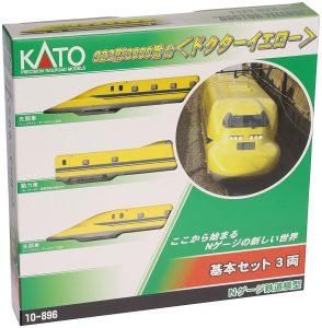 KATO(カトー) 新幹線電気軌道総合試験車 3両基本セット