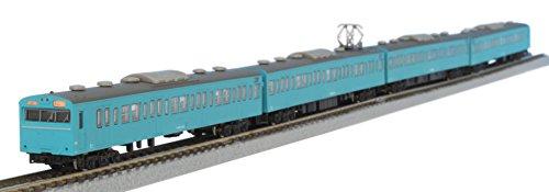 国鉄103系 スカイブルー京浜東北線タイプ 4両基本セット T022-1の画像