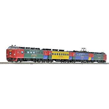 TOMIX Nゲージ 485系特急電車 ハウステンボス セット 4両の画像