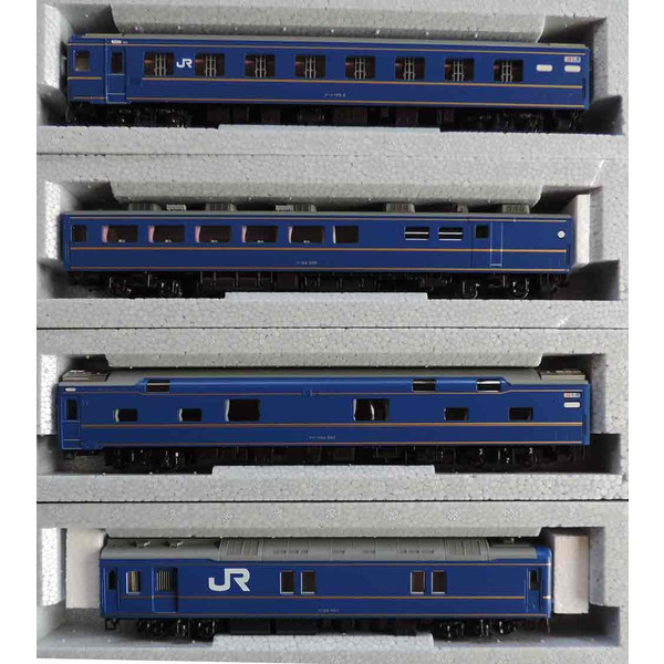 3-515 24系 寝台特急「北斗星」 4両基本セット KATOの画像